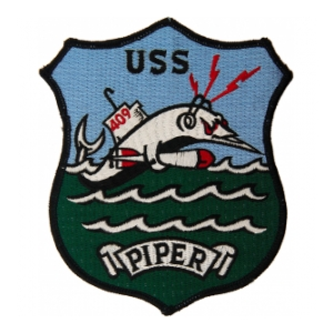 USS Piper SS-409C with Shield Submarine Patch