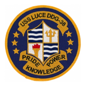 USS Luce DDG-38 Ship Patch