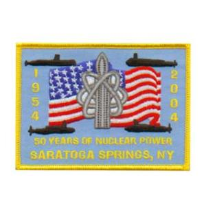 50 Years Of Nuke Power Saratoga Springs, NY 1954 - 2004 Patch