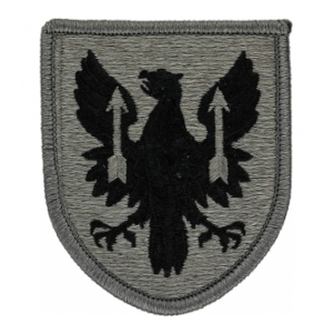 11th Aviation Brigade Patch Foliage Green (Velcro Backed)