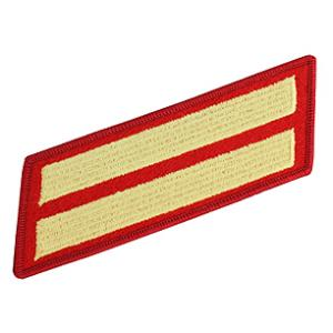 Marine Corps Service Stripes - Double (Red/Gold)