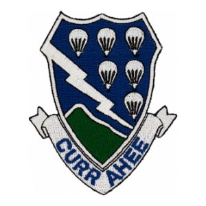 506th Airborne Infantry Regiment Patch
