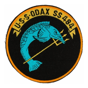 USS Odax SS-484 Submarine Patch