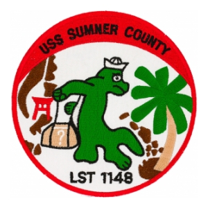 USS Sumner County LST-1148 Ship Patch