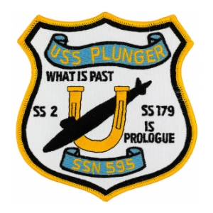 USS Plunger SSN-595 Patch