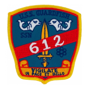 USS Guard Fish SSN-612 Patch