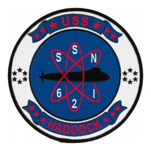 USS Haddock SSN-621 Patch