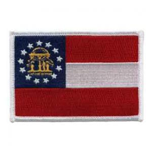 Georgia State Flag Patch