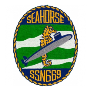 USS Seahorse SSN-669 Patch