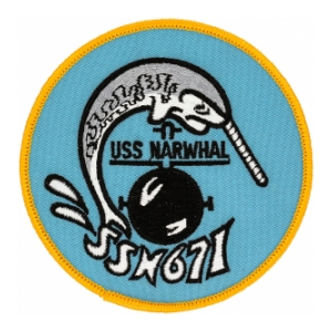USS Narwhal SSN-671 Patch