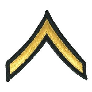 Army Private (Sleeve Chevron) (Male)