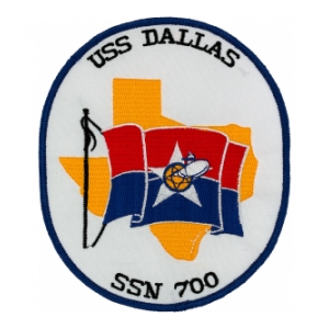 USS Dallas SSN-700 Patch
