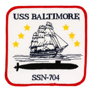 USS Baltimore SSN-704 Patch