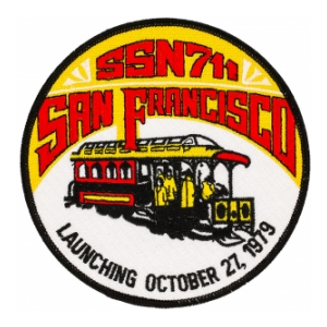 USS San Francisco SSN-711 Patch