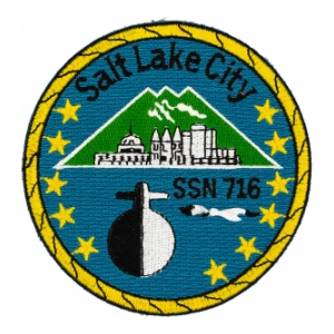 USS Salt Lake City SSN-716 Patch
