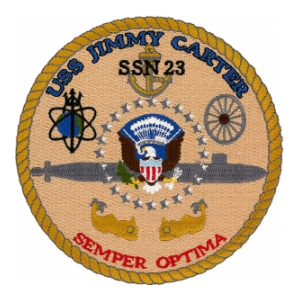 USS Jimmy Carter SSN-23 Patch