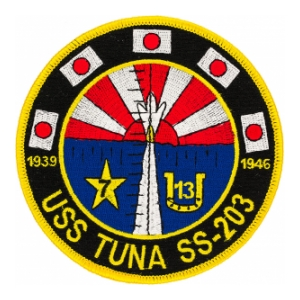 USS Tuna SS-203 Submarine Patch