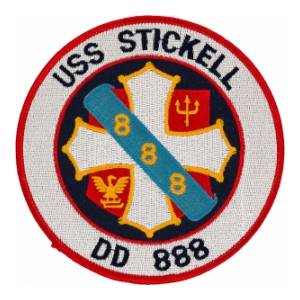 USS Stickell DD-888 Ship Patch