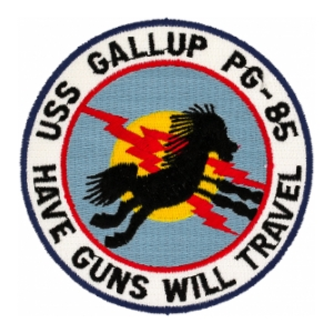 USS Gallup PG-85 Patch