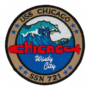 USS Chicago SSN-721 Patch