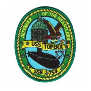 USS Topeka SSN-754 Patch