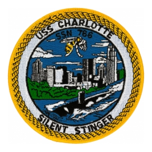 USS Charlotte SSN-766 Patch