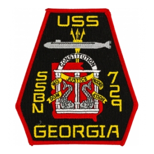 USS Georgia SSBN-729 Patch