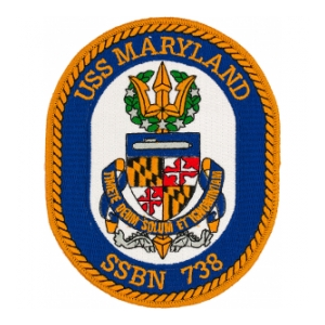 USS Maryland SSBN-738 Patch
