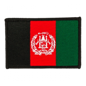 Afghanistan Flag Patch