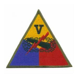 5th Armored Corps Patch