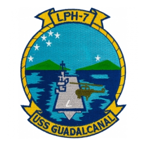 USS Guadalcanal LPH-7 Ship Patch