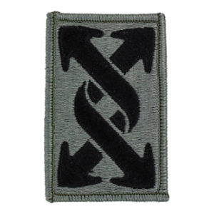 143rd Transportation Brigade Patch Foliage Green (Velcro Backed)