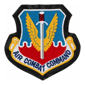 Air Combat Command Patch with Velcro®