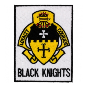 5th Cavalry Regiment Patch (Black Knights)