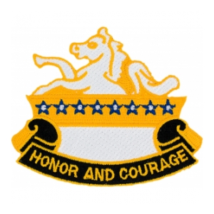 8th Cavalry Regiment Patch (Honor and Courage)
