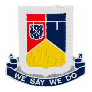 6th Tank Battalion Patch (We Say We Do)