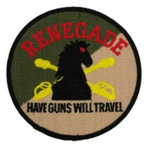 Renegade 4/3 Air Cavalry Regiment Patch Have Guns Will Travel (Dress)