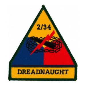 2/34 Armored Cavalry Regiment Patch Dreadnaught