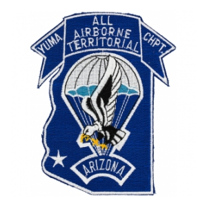 Yuma Chapter All Airborne Territorial Arizona Patch