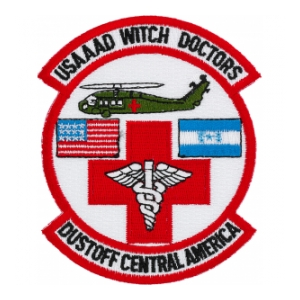 228th Aviation (Dustoff) USAAAD Witch Doctors Dustoff Central America