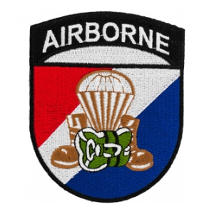 Airborne Boot Patch