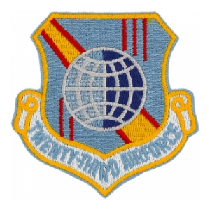 Twenty Third Air Force Patch