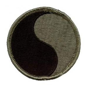 29th Infantry Division Patch  Foliage Green (Velcro Backed)