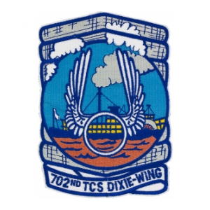 Air Force 702nd Troop Carrier Squadron Dixie Wing Patch