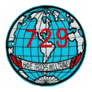 Air Force 729th Transportation Squadron Patch (Have Troops Will Travel)