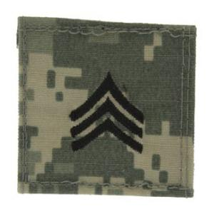 Army Sergeant with Velcro Backing (Digital All Terrain)