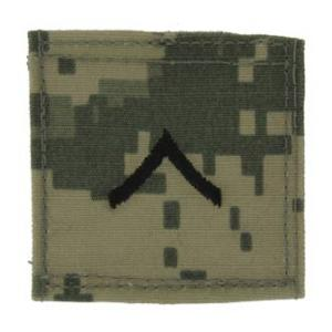 Army Private with Velcro Backing (Digital All Terrain)