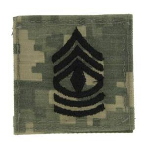 Army 1st Sergeant with Velcro Backing (Digital All Terrain)