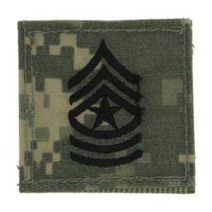 Army Sergeant Major with Velcro Backing (Digital All Terrain)