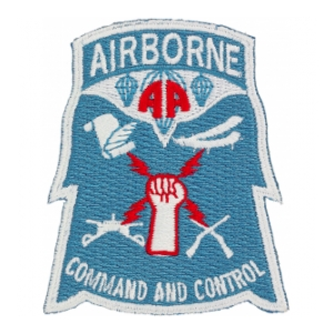 82nd Airborne Command & Control Patch